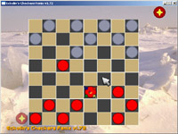 Screenshot of 'Eckolin's Checkers'